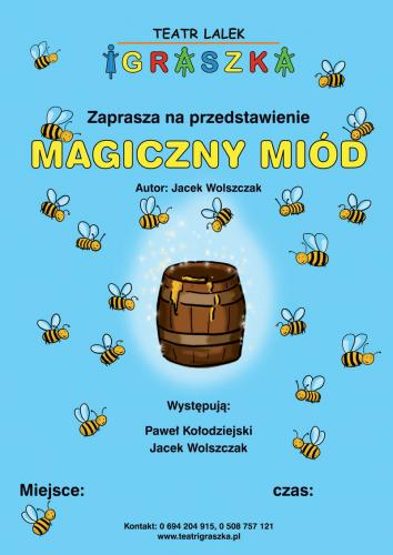Magiczny miód plakat